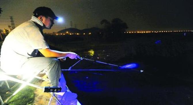 钓鱼头线接线方法图解