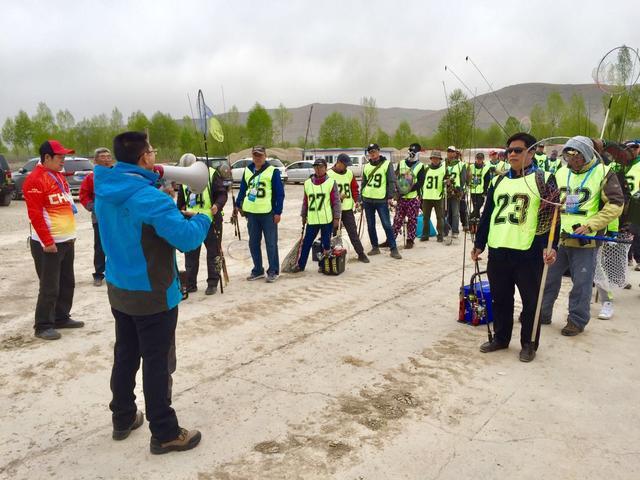 青海省第十七届运动会钓鱼比赛路亚项目开钓